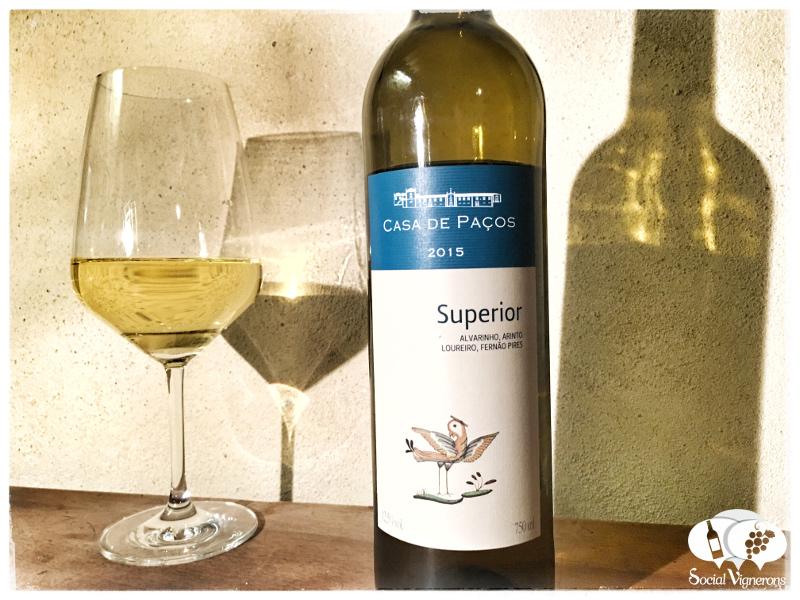 2015 Casa de Paços Minho Blanco Superior, Vinho Regional, Portugal