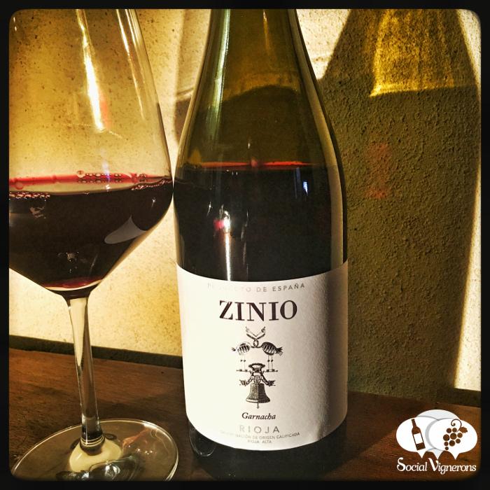 2016 Bodegas Patrocinio 'Zinio' Garnacha, Rioja