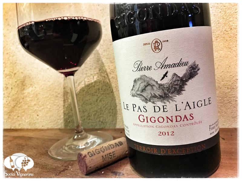 2012 Pierre Amadieu Le Pas de l'Aigle Gigondas, Rhône