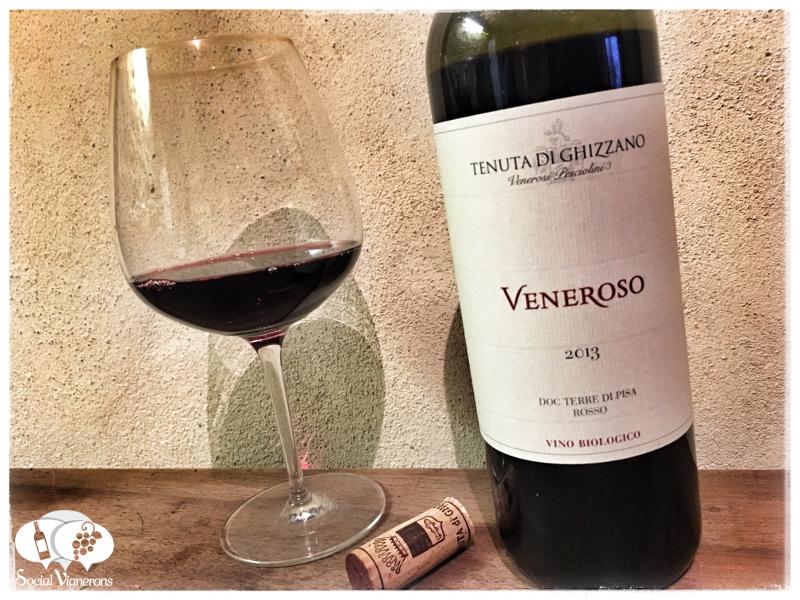 2013 Tenuta di Ghizzano 'Veneroso' Terre di Pisa Vino Rosso Biologico DOC, Tuscany