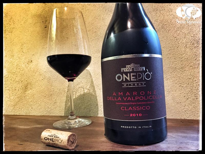 2010 OnePiò Winery Amarone della Valpolicella Classico DOCG, Italy