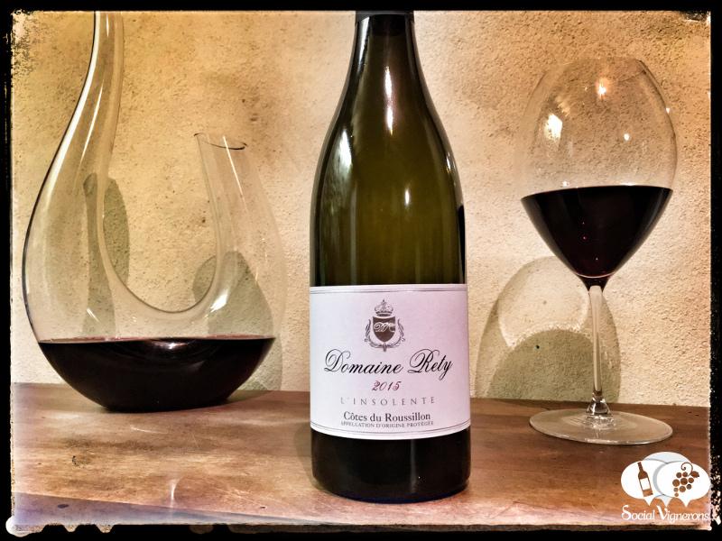 2015 Domaine Rety L'Insolente Côtes du Roussillon Rouge, France