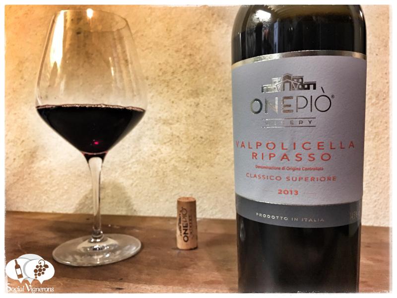 2013 OnePiò Winery Valpolicella Ripasso Classico Superiore, Italy