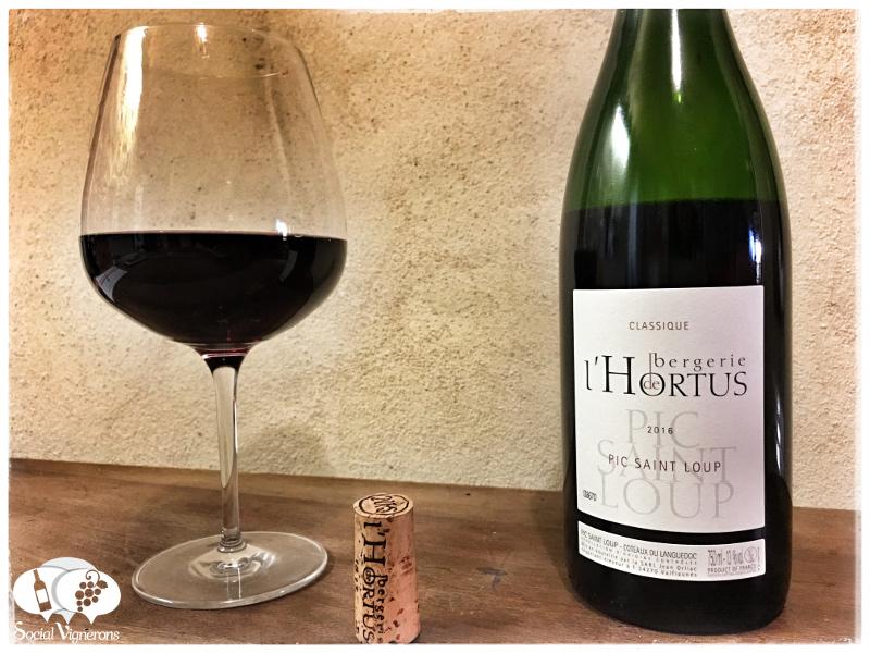 2016 Bergerie de l'Hortus Classique Pic Saint Loup Rouge, Languedoc
