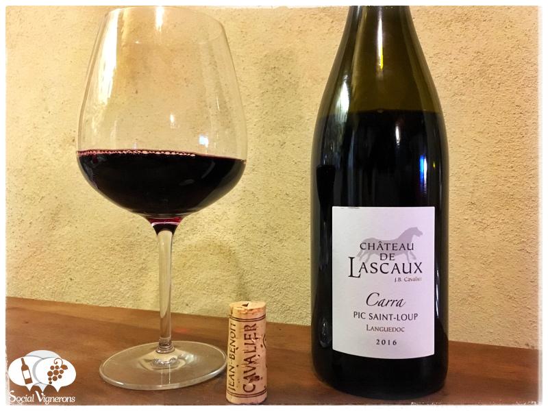 2016 Chateau de Lascaux 'Carra' Pic Saint Loup Rouge, Languedoc, France