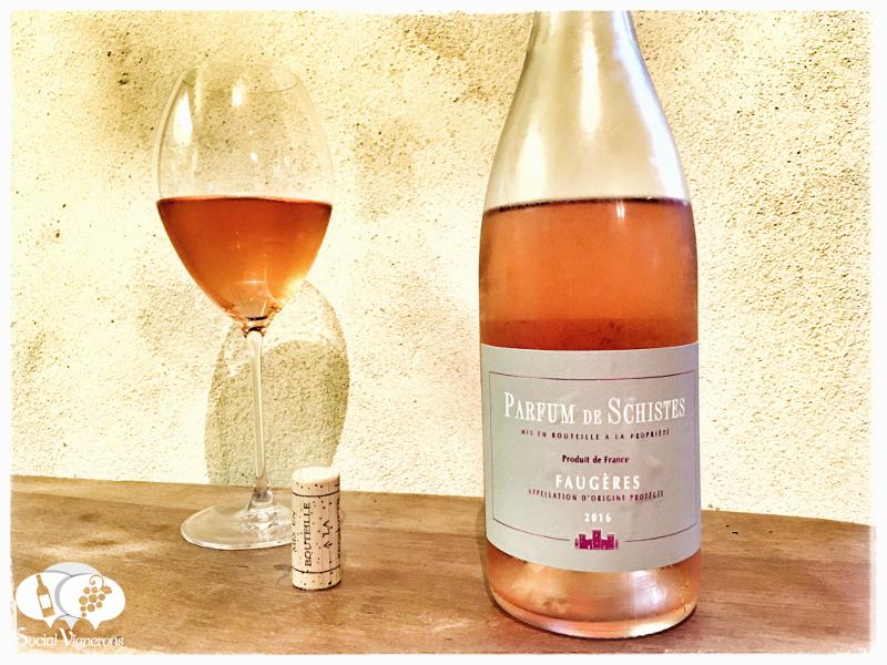 2016 Les Crus Faugères 'Parfum de Schistes' Rosé, Languedoc, France