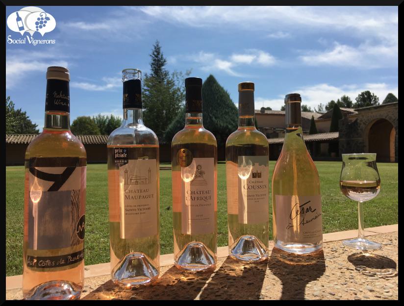 2016 Famille Sumeire Château Coussin Côtes de Provence Sainte-Victoire Rosé, France