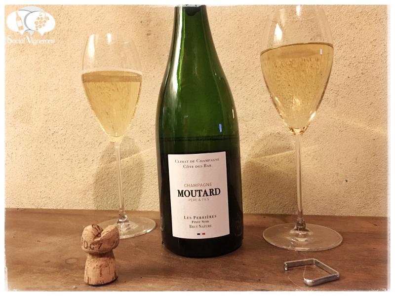 Moutard Climat de Champagne 'Les Perrières' Pinot Noir Brut Nature, Côtes des Bars