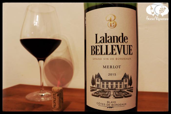 Cave des Vignerons de Tutiac Lalande Bellevue Merlot, Blaye Côtes de Bordeaux