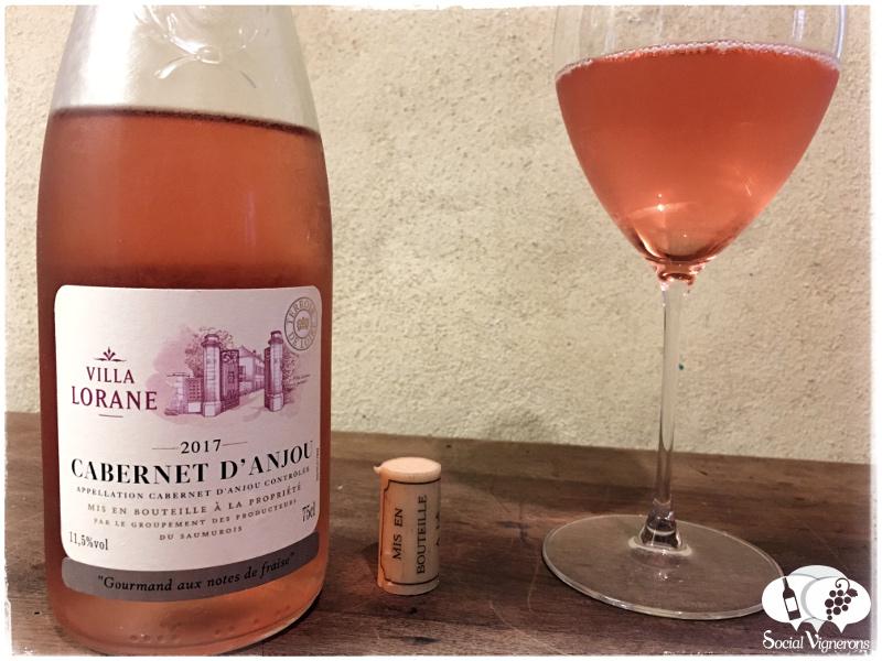 Villa Lorane Cabernet d'Anjou Rosé Review