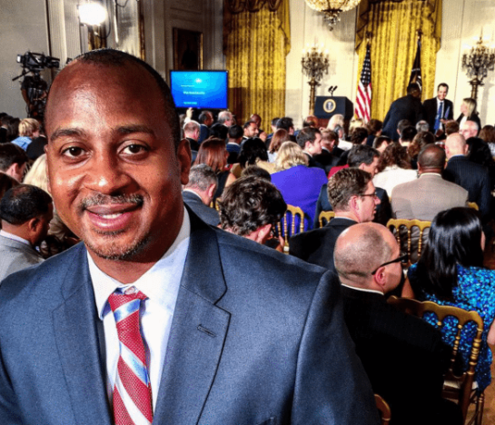 The suit & tie look for the #WHDemoDay at @WhiteHouse getting ready to hear form @BarackObama @POTUS