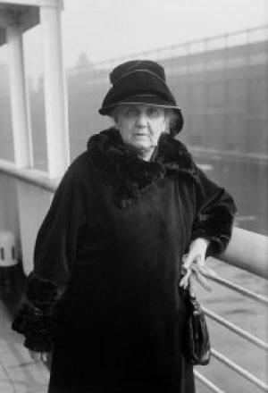 Jane Addams, circa 1924