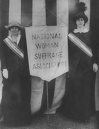 Mrs. Stanley McCormick and Mrs. Charles Parker, April 22, 1913