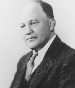 This is Edwin E. Witte, a professor of economics at the University of Wisconsin at the time the Social Security Act was drafted. Professor Witte was the Executive Director of the Committee on Economic Security that crafted the Social Security program.