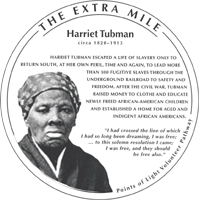 Harriet Tubman Medallion