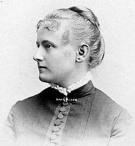 Vida Dutton Scudder c. 1890