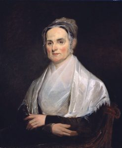 Painting of Lucretia Mott (1793 - 1880), the proponent of women's rights