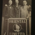 Officers of the VOA Traveling on the Oriental Limited