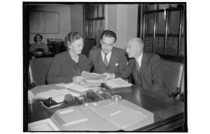 social-security-boardSocial security board. Washington, D.C., Nov. 12, 1937. The first picture of the Social Security Board since the appointment of Miss Mary. M. Dewson.