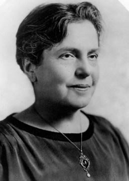 Lillian Wald founder of New York's Henry Street Settlement