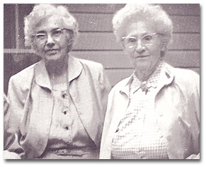 Jessie Taft and Virginia Robinson, Lifelong Partners