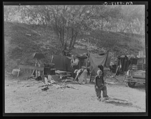 Poor Family 1934, Congressional Library