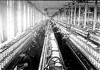 Spinning Room Cornell Mill Fall River, Mass. Photo: Lewis Hine