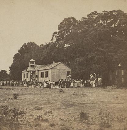 Laura Towne's School, St. Helena Island, South Carolina