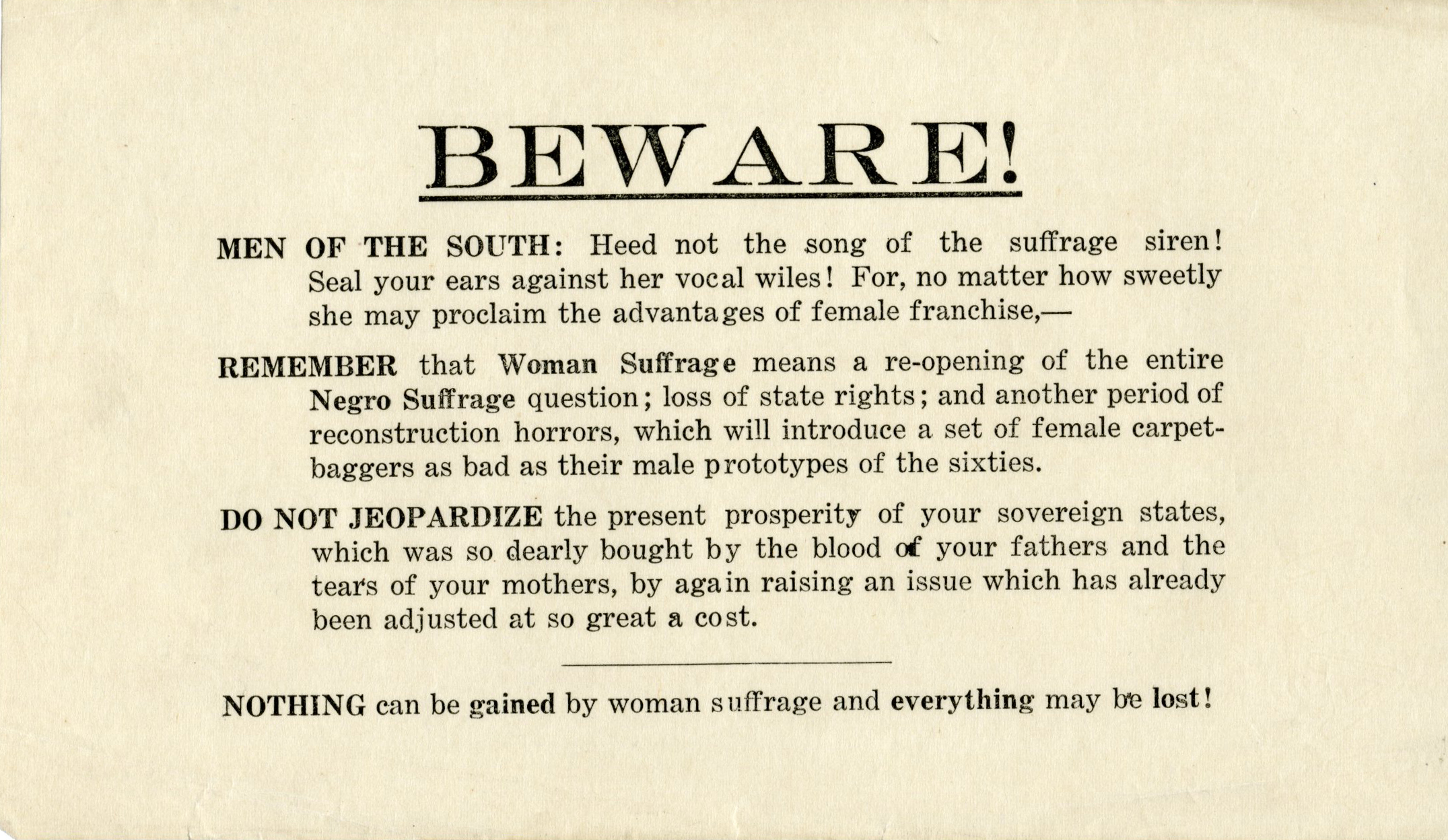 Social Welfare History Project Suffrage In The South The Poll Tax