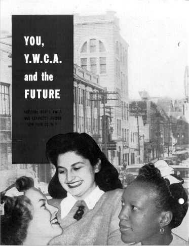 "pamphlet cover ""You, Y.W.C.A. and the Future"""
