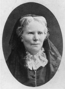 Elizabeth Blackwell wearing veil