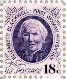 Elizabeth Blackwell US Postage Stamp 1974