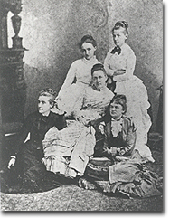 """Friday Evening"" Group of five women friends"