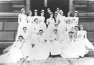 Women Medical School Graduates of Johns Hopkins, 1893