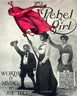"""The Rebel Girl"" sheet music cover"