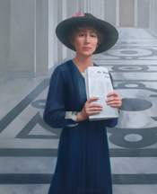 Rankin's portrait, by Sharon Sprung, in the House of Representatives Collection