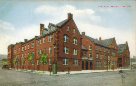 Postcard, The Hull House, Chicago