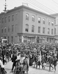 Emancipation Day parade Richmond, VA 1905
