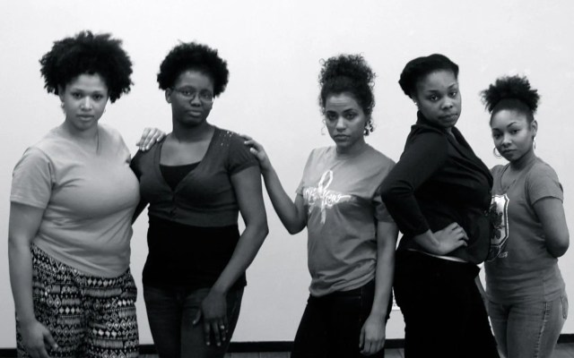 Primary cast of the Knoxville, TN stage play The 5th Woman