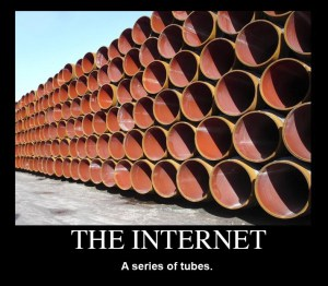 A picture of a stack of tubes
