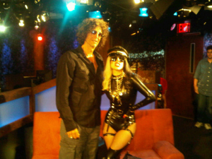 A picture of Howard Stern and Lady Gaga