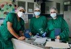 Cristianos valientes visitan hospital