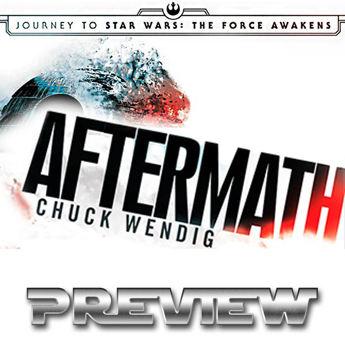 Primeiras páginas do novo cânon AFTERMATH de Chuck Wendig – TRADUZIDAS