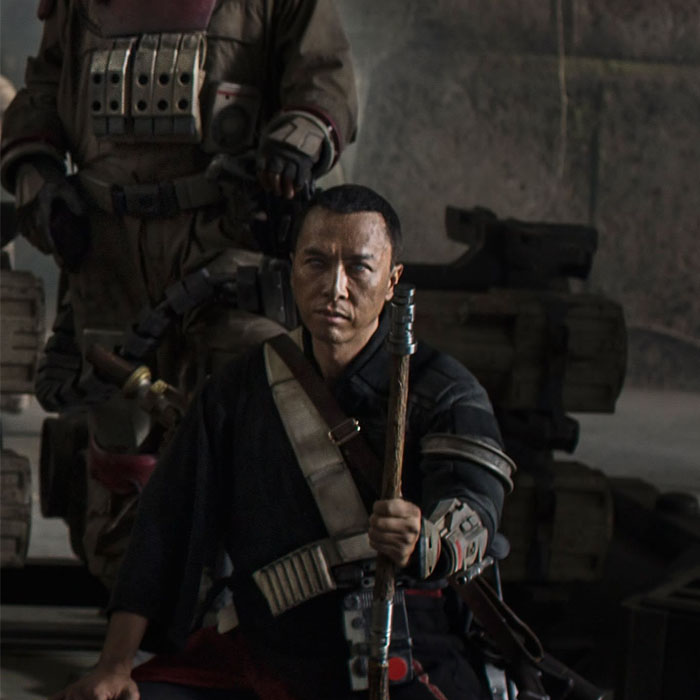 Como será o personagem de Donnie Yen em Star Wars: Rogue One?