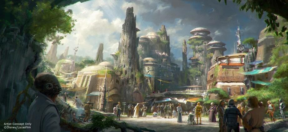 Parques temáticos de Star Wars anunciados!