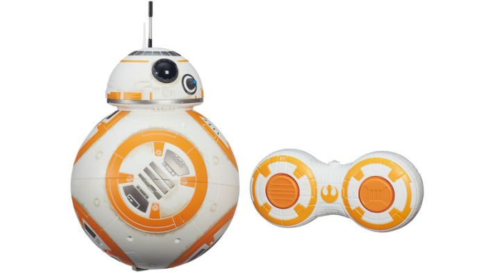 A Hasbro também tem um BB-8 de controle remoto