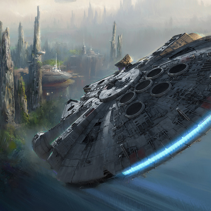 Parques temáticos de Star Wars começarão a ser construídos ano que vem