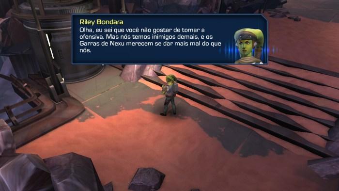 O jogo ainda possui alguns pequenos erros de português.