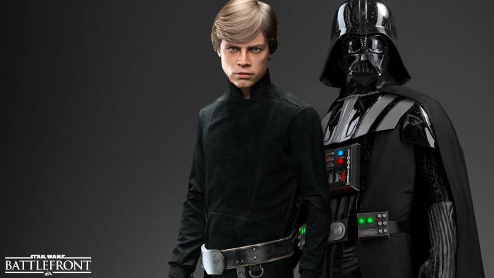 Luke & vader