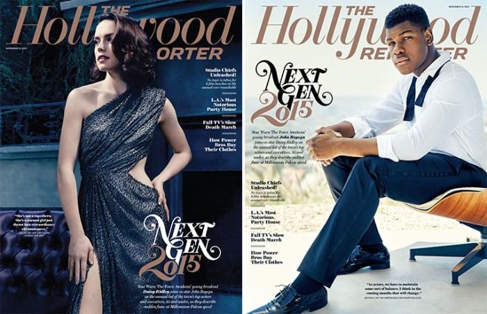 Daisy e Boyega são destaques da revista Hollywood Reporter